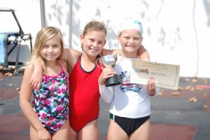 Kaia - 8 yr champion Camille, Andi - runners up