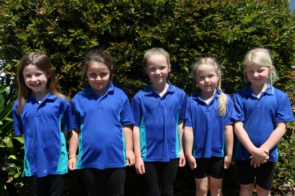 Year 2 Jay & Chanelle (2nd=), Charli (1st), Chanel & Luka (3rd)